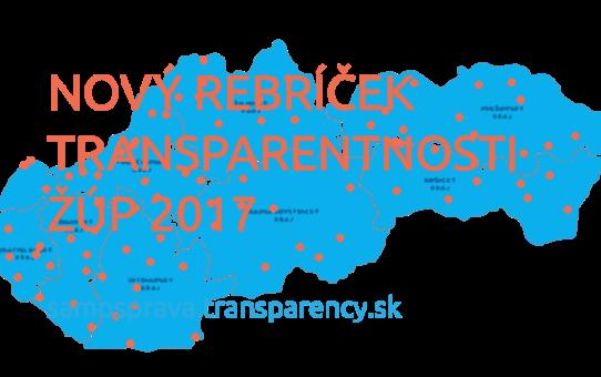 Rebríček transparentnosti žúp