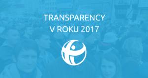 Transparency v roku 2017