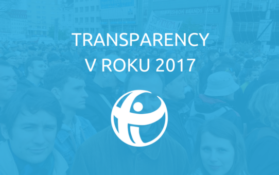 Transparency v roku 2017